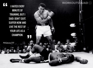 ... Ali Quotes I Hated Every Minute Of Training Muhammad ali i hated every