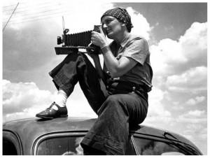 Dorothea Lange, berühmte Dokumentarfotografin der Depressionszeit ...