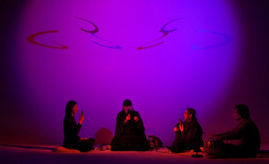 The Just Alap Raga Ensemble performing Raga Darbari, Dream House ...