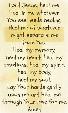 Gods Quotes And Prayers, Healing Prayer Quotes, Catholic Prayers For ...
