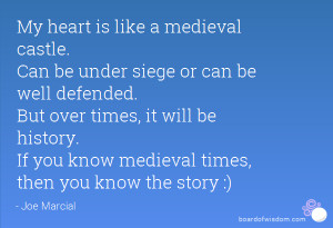 Medieval Times Quotes