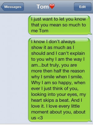 Cute Text Messages To Send To Your Boyfriend | mylovestory12345 | 4.5