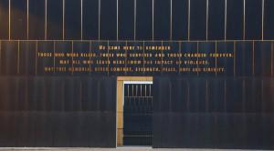 Empty chairs honor 168 victims of Oklahoma City bombing