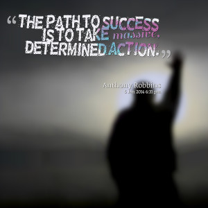 Quotes Picture: the path to success is to take mbeeeeeepive ...