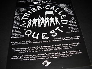 TRIBE-CALLED-QUEST-multi-hype-quote-PROMO-DISPLAY-AD-from-1NCE-AGAIN ...
