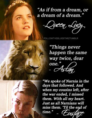 followthebluestar:Favorite The Chronicles of Narnia movie quotes ...