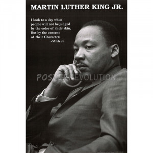 Martin Luther King Jr. (Character Quote) Art Poster Print - 24x36
