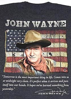 John Wayne American Flag Quote
