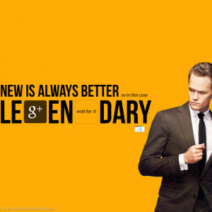 How I Met Your Mother Barney Quotes Awesome
