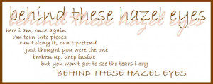 Quotes About Hazel Eyes Hazel Eyes Sayings People With