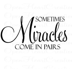 ... Baby Nursery Wall Quote - Christian Vinyl Wall Lettering Decal 20H x