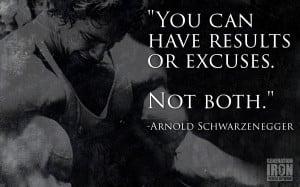 Generation Iron Arnold Schwarzenegger Quote picture