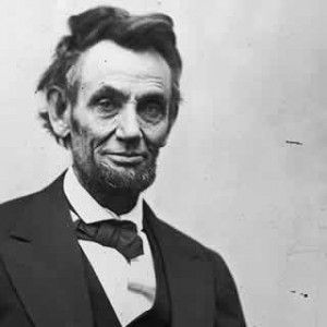 Abraham Lincoln clearly needed more sleep.