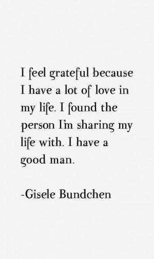 Gisele Bundchen Quotes & Sayings