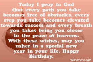 Showing Gallery For Christian Birthday Quotes For Friends