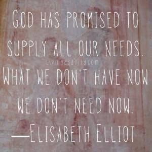 Elisabeth Elliot.