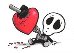 Four rules for heartbreak
