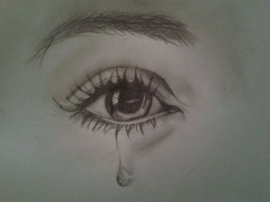 draw crying eyes step 5 living with a depressed mom sad eyes with ...