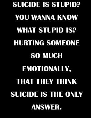 love quote text sad suicide stop hurting self harm dead emotions ...