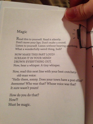 Bo Burnham's book of poems...