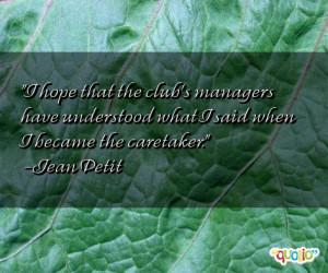 Caretaker Quotes