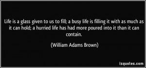 More William Adams Brown Quotes