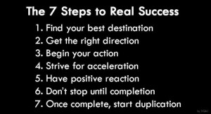 Mr Bolero Motivational Quotes : 7 Steps to Real Success