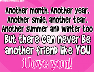 Friend Forever Quotes | Quotes for Best Friends Forever I cant help ...