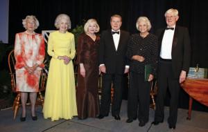 June Hennage and Jim Lehrer Jim Lehrer Sandra Day O 39 Connor Gordon