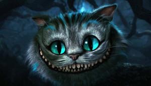 ... , « Le Chat du Cheshire », in Alice au pays des Merveilles, 2010