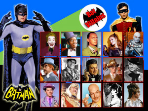 Sci Fi Trifles: Holy Guest Stars! Everybody Wants to be on Batman!