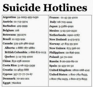 below and if you are someone who lost a loved one to suicide consider ...