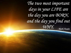What is Your Purpose in Life....