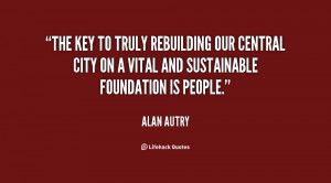 The key to truly rebuilding our central city on a vital and ...