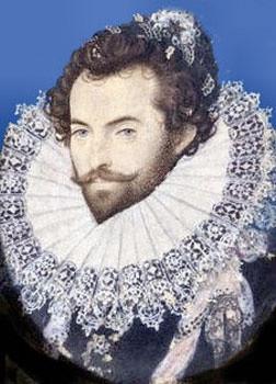 Sir Walter Raleigh wrote the poem,