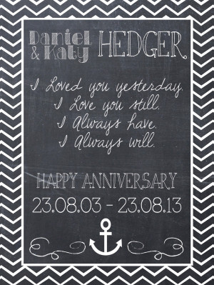 Happy 10 Year Wedding Anniversary Quotes Our 10th wedding anniversary