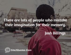 Funny Quotes - Josh Billings