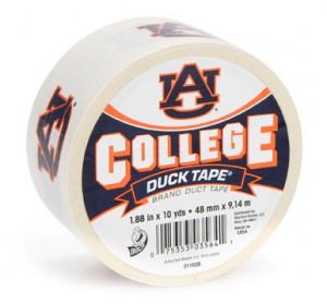 Auburn University College Duck Tape®brand duct tape