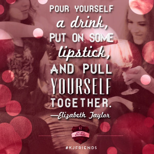 ... all you K-J Friends who love a great Girls Night Out. #wine #quotes