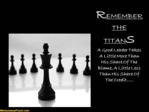 REMEMBER THE TITANS - motivational