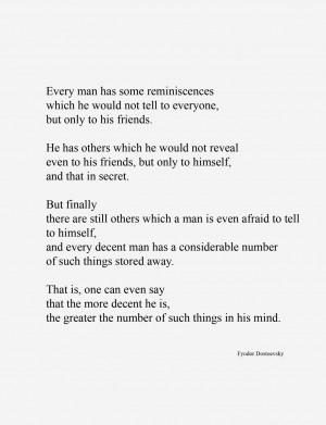 Fyodor Dostoevsky , Notes from Underground