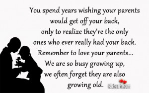 You Spend Years Wishing Your Parents Would Get Off Your Back…