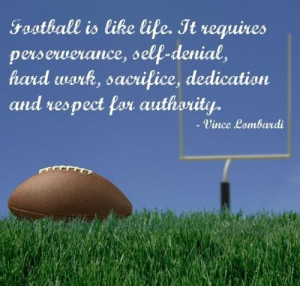 Vince lombardi best sayings quotes and football life