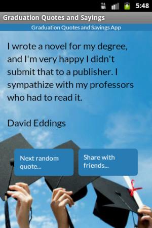 Graduation Quotes and Sayings - screenshot