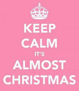 almost christmas!
