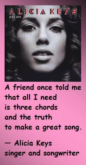 Alicia Keys Quotes From Songs Alicia keys