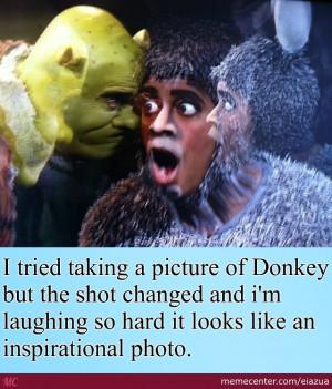 Donkey From Shrek Quotes Inspirational. QuotesGram