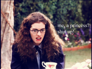 anne hathaway, funny, girl, photo, princess diaries, ugly