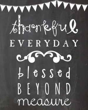 Thanksgiving Decorations: FREE Thanksgiving Chalkboard Printable
