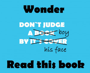 Wonder... Thoughts about the book